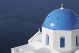 Church, Oia, Santorini Island, Cyclades Islands, Greek Islands, Greece Photographic Print by Martin Ruegner