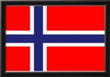 Norway National Flag Poster Print Photo