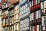 Traditional Timber Framed Housing in Hanover Photographic Print by Allan Baxter