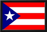 Puerto Rico National Flag Poster Print Posters