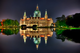 Hannover Rathaus Photographic Print by Fresh photos from all over the worls