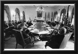 Gerald Ford (At Cabinet Meeting) Art Poster Print Posters