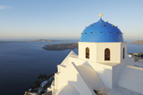 Church, Imerovigli, Santorini Island, Cyclades Islands, Greek Islands, Greece Photographic Print by Martin Ruegner