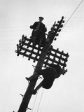 Telegraph Pole Photographic Print by Raymond Kleboe