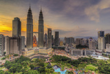 The Petronas Twin Towers [Explored] Photographic Print by Mohamad Zaidi Photography