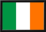 Ireland Flag Art Print Poster Posters