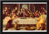 Juan de Juanes (The Last Supper) Art Poster Print Poster