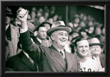 President Franklin Delano Roosevelt First Pitch Archival Photo Poster Print Prints