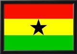 Ghana National Flag Poster Print Photo
