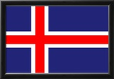 Iceland National Flag Poster Print Prints