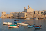 Harbour, Giovinazzo, Puglia, Italy Fotodruck von Peter Adams
