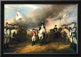 John Trumbull Surrender of Lord Cornwallis Art Print Poster Prints