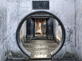 A Gateway at Yu Garden, Shanghai, China Photographic Print by William Yu Photography