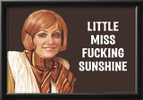 Little Miss F*cking Sunshine Funny Art Poster Print Posters
