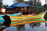 Traditional Fishing Boat in Tumpat, Kelantan Photographic Print by  Zuraisham