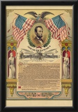 Abraham Lincoln Emancipation Proclamation Historical Document Poster Poster