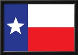 Texas Flag Art Print Poster Posters