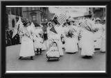 Suffrage Parade (New York City, 1912) Art Poster Print Print