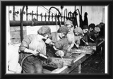 Women War Workers (Ordnance Shops) Art Poster Print Prints