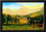 Albert Bierstadt Rocky Montains at Lander's Peak Poster Prints