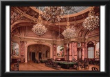 The New Gambling Room Monte Carlo,Riviera Art Print Poster Print