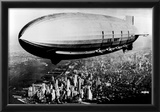 US Navy Macon Zeppelin Archival Photo Poster Photo
