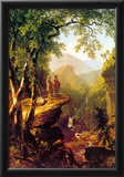 Asher Brown Durand Kindred Spirits Art Print Poster Posters
