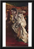 Albert von Keller The Dancer Madeleine Art Print Poster Posters