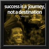 Arthur Ashe Success Quote iNspire Poster Prints