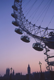 London Eye at Sunset Photographic Print by Grant Faint