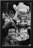 Arthur Ashe Tennis Trophy Archival Photo Sports Poster Posters