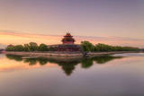 Forbidden City and its Moat in the Morning Photographic Print by CZQS2000 / STS