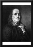 Benjamin Franklin (Portrait) Art Poster Print Prints