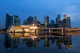 Singapore City Lights Photographic Print by Photography by Tuomas Lehtinen
