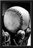 Baseball Glove Archival Photo Sports Poster Print Poster