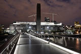 Millennium Bridge and Museum at Night Photographic Print by Cultura Travel/Dan Dunkley
