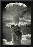 Atomic Bomb Mushroom Cloud Archival Photo Poster Print Photo