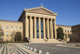 Usa, Pennsylvania, Philadelphia, Philadelphia Museum of Art Facade Photographic Print by  Fotog