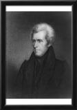 Andrew Jackson (Portrait) Art Poster Print Print