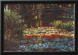 Claude Monet Water Lily Pond 1 Art Print Poster Posters