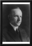 Calvin Coolidge (Portrait) Art Poster Print Posters