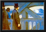 Gustave Caillebotte Le Pont de L'Europe Art Print Poster Posters