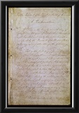 Emancipation Proclamation (Text) Art Poster Print Prints