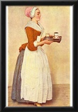 Jean-Étienne Liotard (The Chocolate Girl (Ms. Baldauf)) Art Poster Print Prints