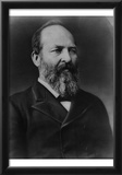 James A Garfield (Portrait) Art Poster Print Photo