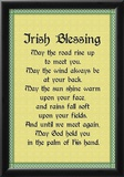 Irish Blessing Art Print Poster Posters