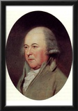John Adams (Portrait, Color) Art Poster Print Poster