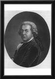 John Adams (Portrait, B&W) Art Poster Print Posters