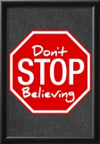 Journey Don't Stop Believing Music Poster Print Prints