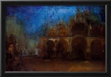 James Whistler Nocturne Blue and Gold Saint Marks Venice Art Print Poster Print